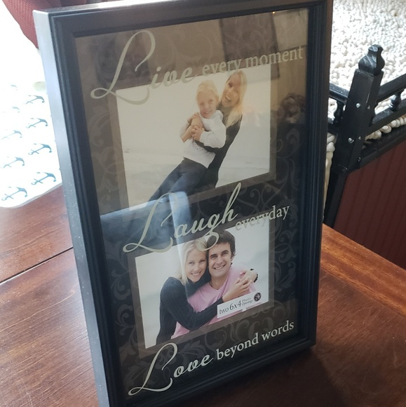 Other Live Laugh Love Collage Photo Frame Poshmark